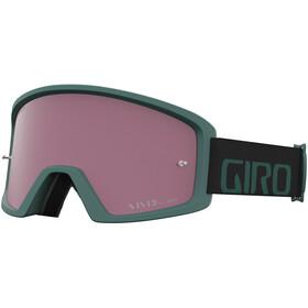 Giro Blok Occhiali Mtb, grey green/vivid trail/clear